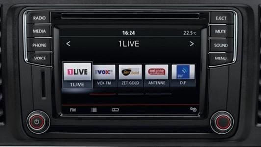 """VW Radio 'Composition Colour' met 6,5"""" touchscreen, 2x USB en app-connect"""